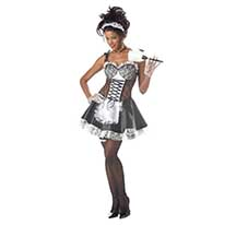 costume sexy french maid