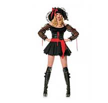 red costume vixen pirate wench